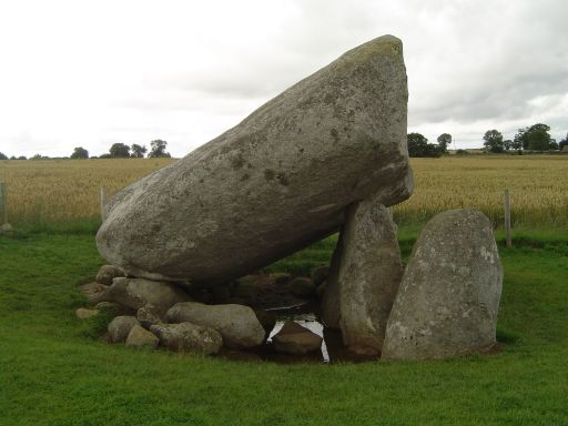 Carlow - Brown Hill Dolmen.