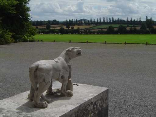 Laois - The lions of Emo Court.