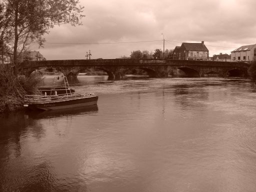 River Barrow in Carlow.