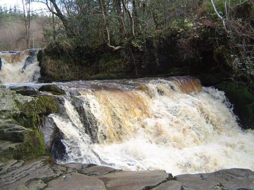 Laois - Les chutes de Glenbarrow.