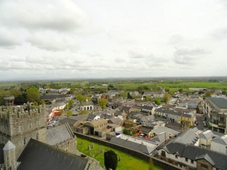 Vue sur la ville de Kildare