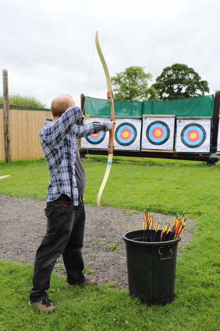 Archery in Clane.